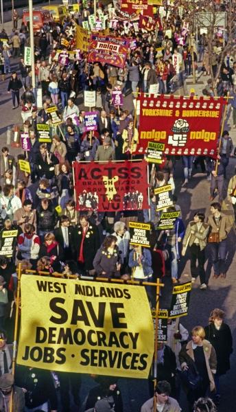 1985: Save Local Democracy Rally