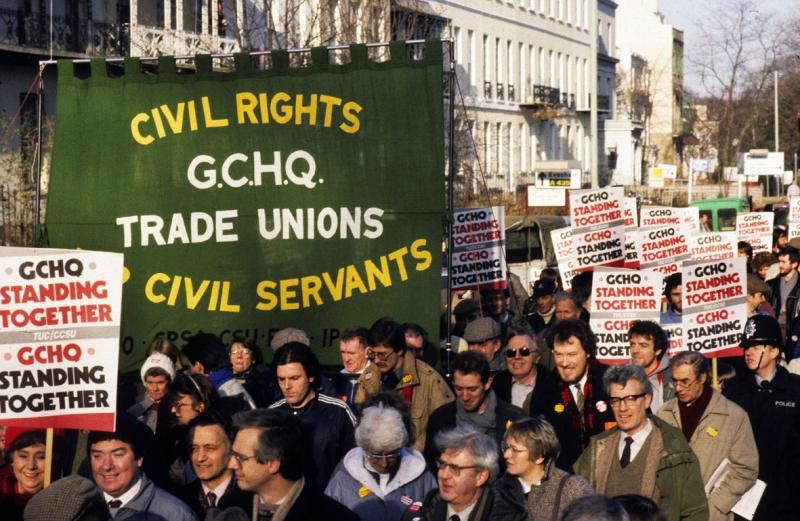 1985: GCHQ Dispute