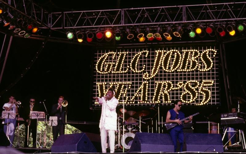 1985 - Working Week at  GLC Jobs Festival