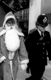 1984 - Miners\' Strike: Father Christmas arrested