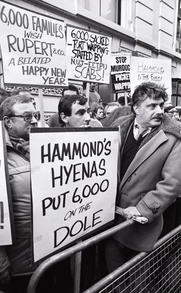 1986 - News International Dispute at Wapping
