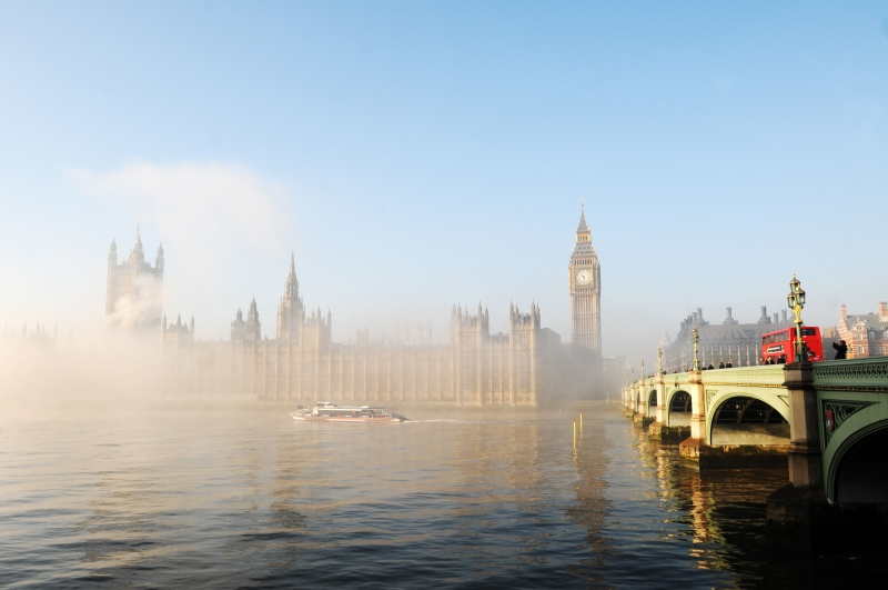 Landscape & Travel - The Houses of Parliament