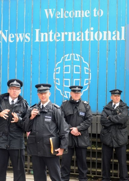 News - Police at News International