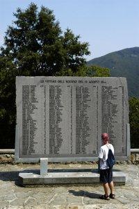 Memorial to victims of massacre at Sant'Anna di Stazzema