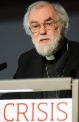 Dr Rowan Williams, Archbishop of Canterbury